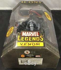 Toybiz Marvel Legends 2006 12 Inch Venom Action Figure Boxed Set