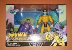 Toynami Birdman & Avenger 6inch deluxe box set Hanna Barbera action figure