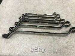 USA Made CRAFTSMAN PROFESSIONAL 13pc METRIC INCH BOX END WRENCH SET Deep Offset