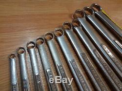 USA Made= CRAFTSMAN = SAE INCH Double BOX END WRENCH SET 11pc standard Forged VV
