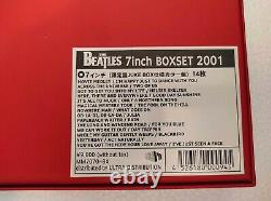 Very Rare The Beatles 7 inch Box set 14 colored singles by Capitol, Juke box