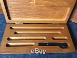 Vintage Starrett 1 inch to 6 inch Outside Micrometer Set in Box