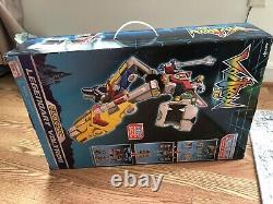 Voltron 84 Classic Playmates 16 Inch Combiner Transformable Lions Box Set Rare