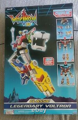 Voltron 84 Classic Playmates 16 Inch Combiner Transformable Lions Set Box New