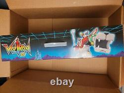 Voltron 84 Classic Playmates 16 Inch Combiner Transforming Lions Box Set NIB