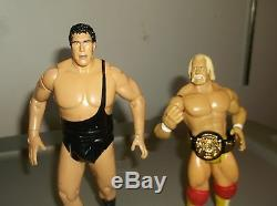 WWE Action Figures Hulk Hogan and Andre the Giant Anniversary Box set 7 Inches