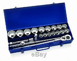 Williams 33901 21-Piece 3/4-Inch Drive Socket Lok Tool Set With Box