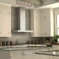 ZLINE KE-30 30 Inch Stainless Steel Wall Hood LEDs and 4 Fan Settings (Open Box)