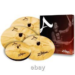 Zildjian A Custom Cymbal Box Set 4 Cymbal Set-Up w FREE 18 inch A Crash, New